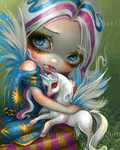 """Twilight Delight"" SIGNED Glossy Photo Art Print by Jasmine Becket-Griffith"