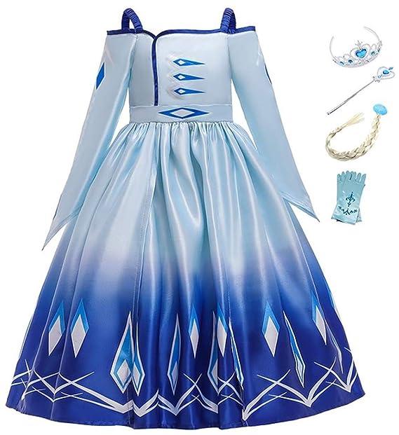 Kosplay Princesa Disfraz Traje Parte Las Niñas Vestido/Capa ...