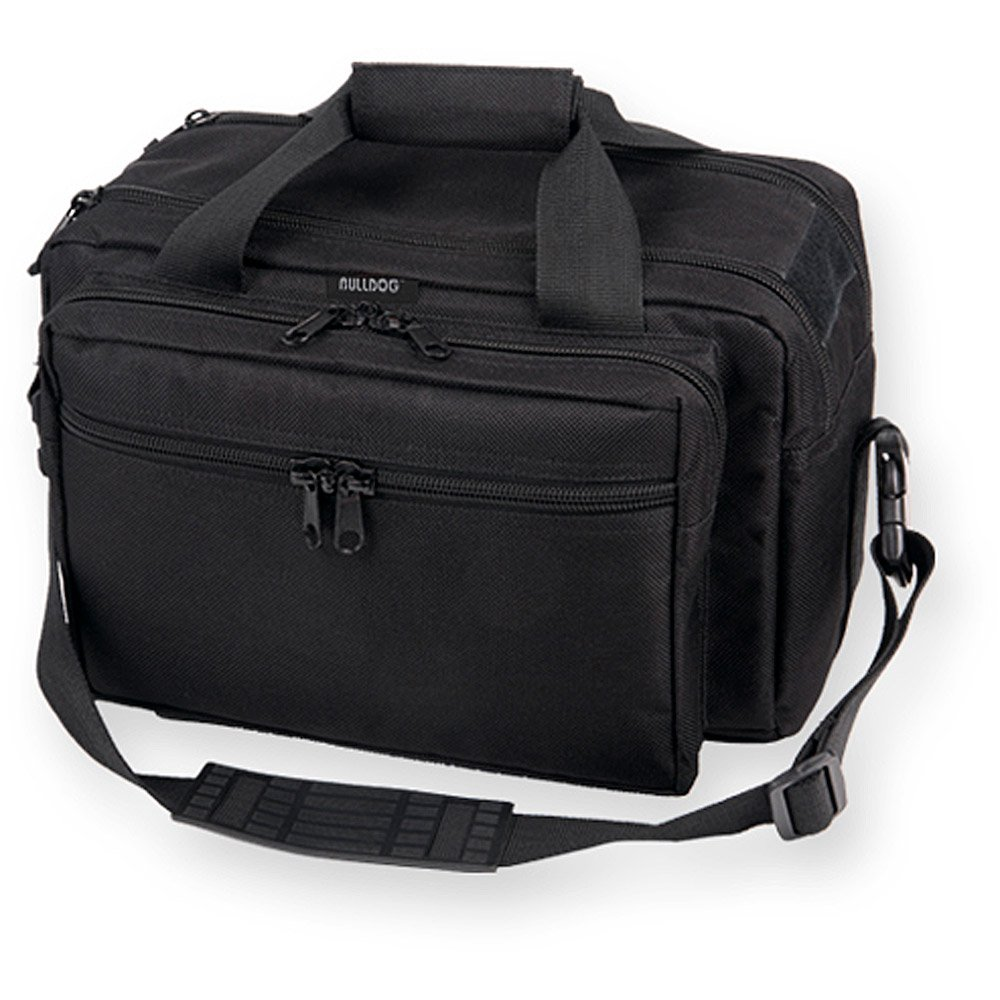 7. Bulldog Cases X-Large Deluxe Black Range Bag with Pistol Rug