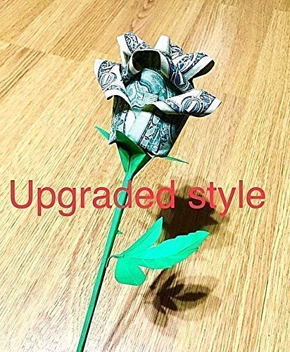 origami money rose paper flower real dollar bill graduation valentine gift