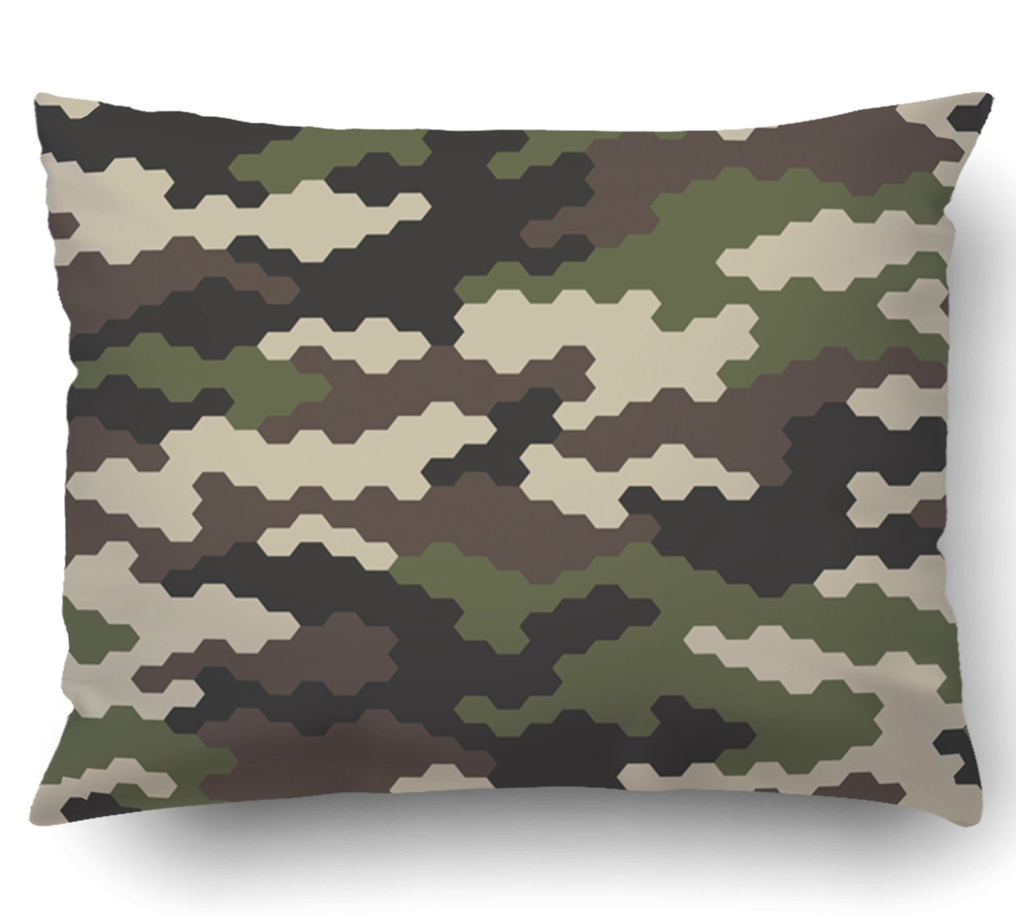 Emvency Pillow Covers Decorative Submarine Against The Evening Sky Navy Bulk With Zippered 16x16 Square Pillow Case For Home Bed Couch Sofa Car One Sided