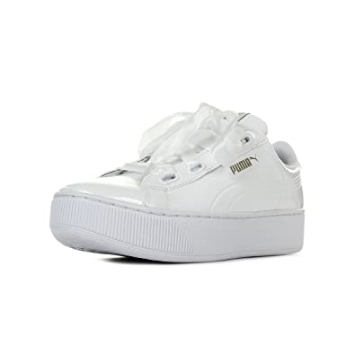 Puma Women s Vikky Platform Ribbon P Low-Top Sneakers  Amazon.co.uk ... b2fe2483c