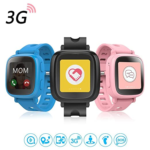 Oaxis WatchPhone, Reloj inteligente para niños, 1.54