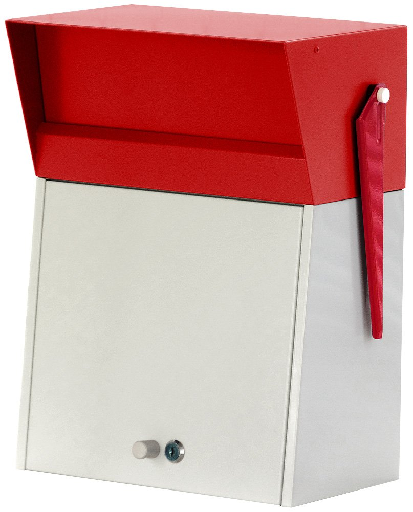 HERMOSA MELROSE POST メールBOX レッド MR-001 B077H8YSNZ 16200