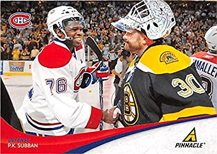c6ab4d025 Tim Thomas PK Suban trading card (Boston Bruins Hockey Montreal ...
