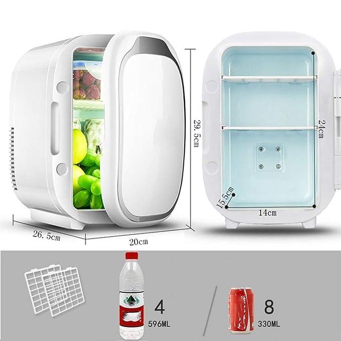 WJSW Mini congelador portátil de 6 litros/Caja de enfriamiento ...