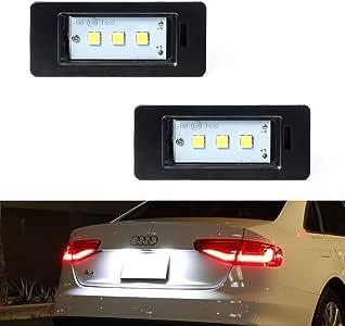 12x AUDI A5 S5 B8 SPORTBACK CAR INTERIOR LIGHT BULBS LED KIT XENON WHITE