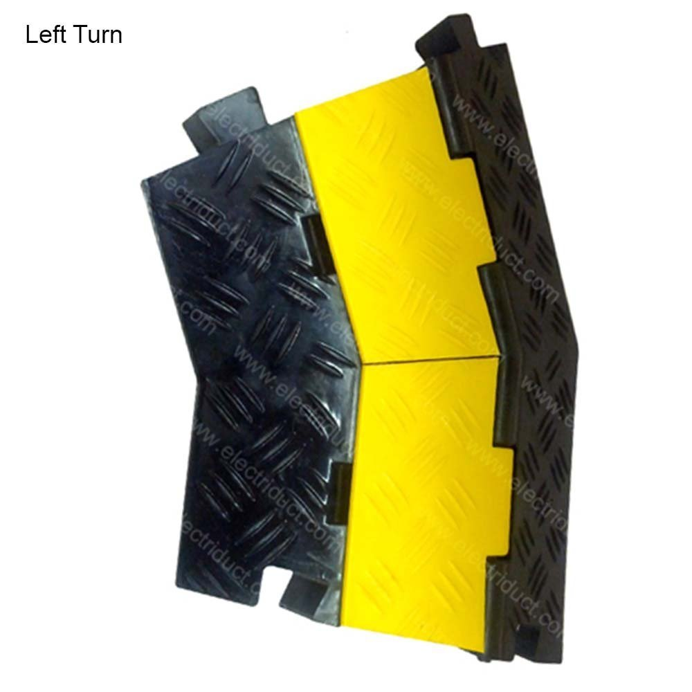 Extreme Rubber Small 2 Channel Cable Protector Black Wiremold Legrand 5 Ft Non Metallic Hinged Cord Cover Base Yellow Lid Home Improvement