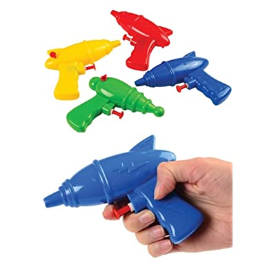 12 -Superhero squirt/water guns