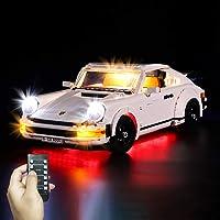 Yovso Verlichtingsset voor Lego 10295 Porsche 911 Turb, LED-verlichtingsset licht compatibel met Lego 10295 (alleen LED…