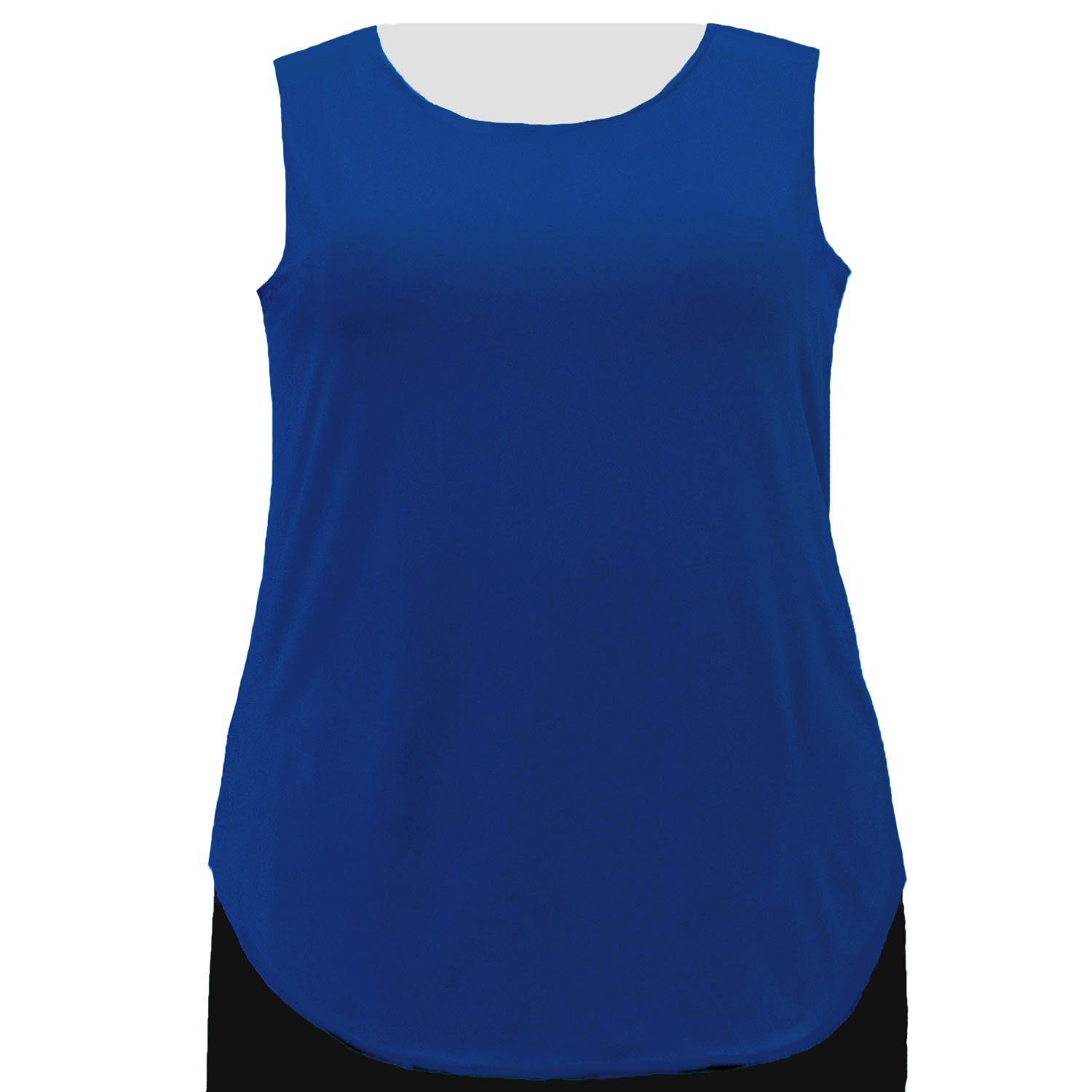 A Personal Touch Women's Plus Size Cobalt Tank Top