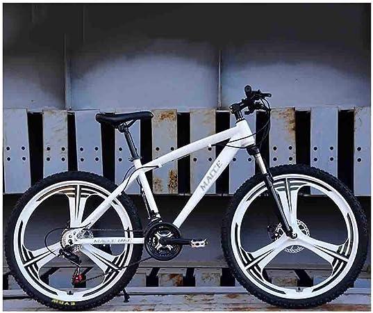 Bicicleta para joven Bicicletas De carretera Bicicleta de bicicletas de montaña del camino de MTB for adultos Bicicletas for hombres y mujeres de 26 pulgadas ruedas ajustables velocidad doble freno de: Amazon.es:
