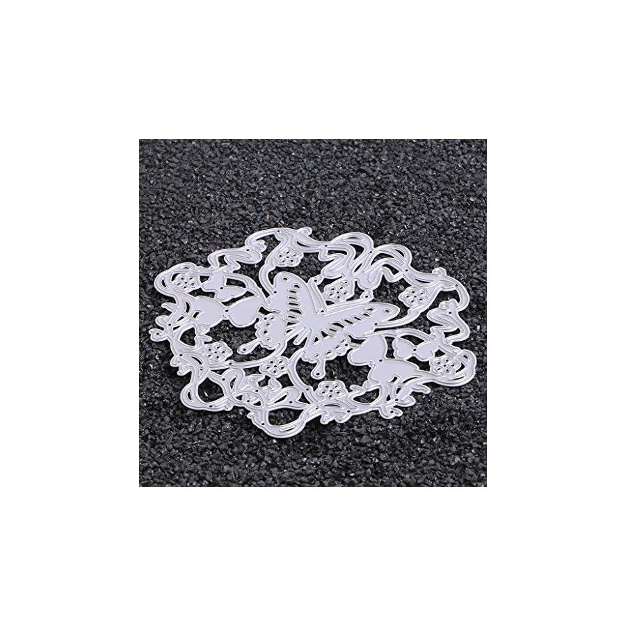 SCASTOE Butterfly Metal Cutting Dies Stencil DIY Paper Craft Card Making Scrapbooking Album