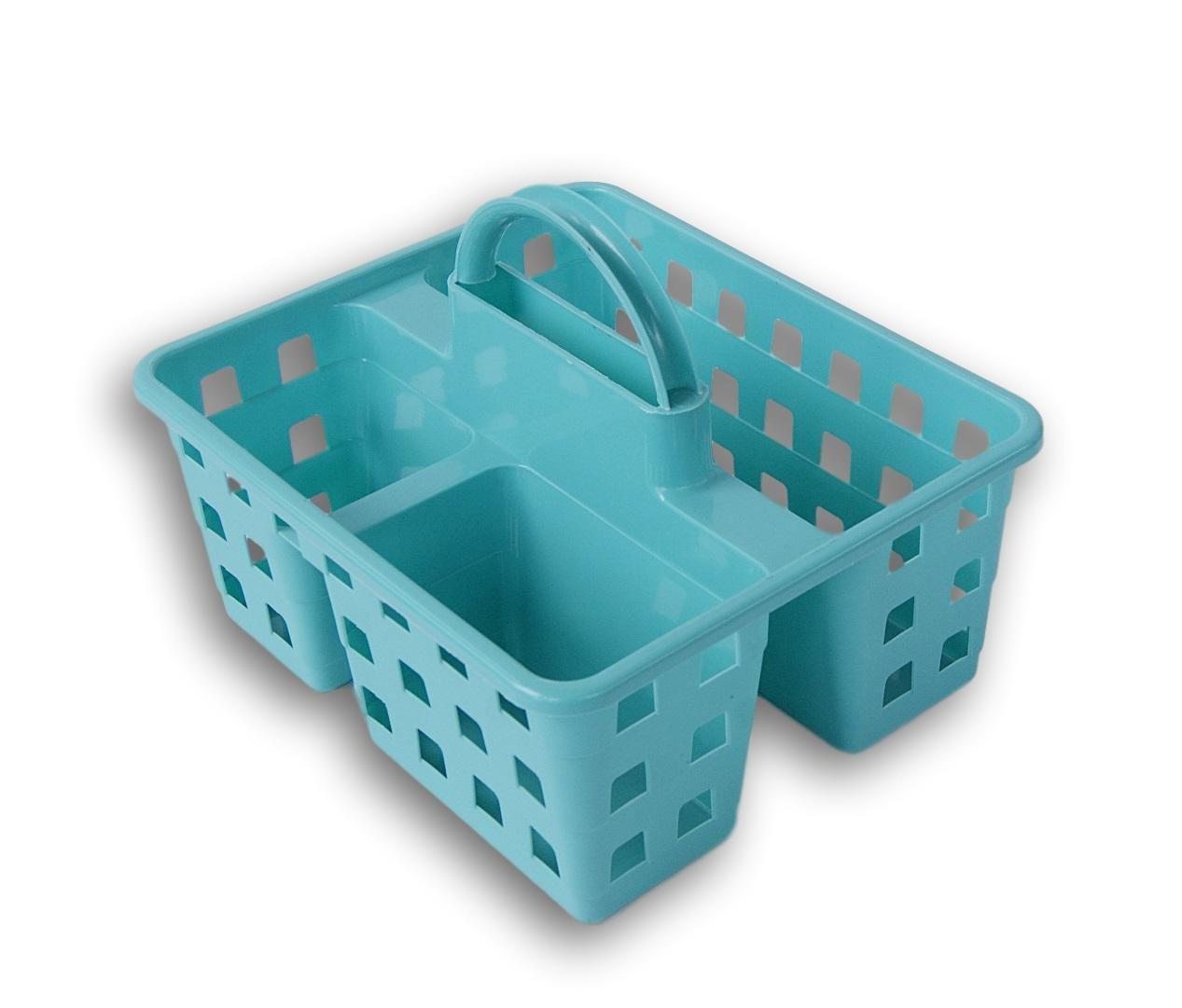 Amazon.com: MS Small Utility Shower Caddy Tote (Aqua Blue): Home ...