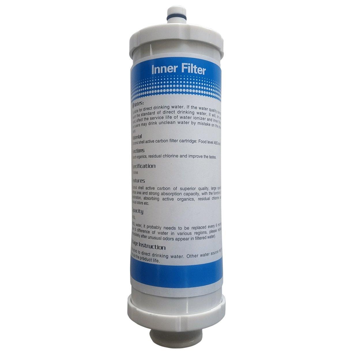 1 X Carbon Filter for AquaSpirit 5.0 and 7.0, AlkaH2o, KE501, KE701