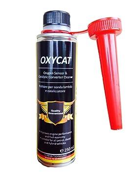 Oxycat Limpiador para sonda Lambda, catalizador y Válvula EGR – Mejora el combustible – Aumenta el Rendimiento del motor: Amazon.es: Coche y moto
