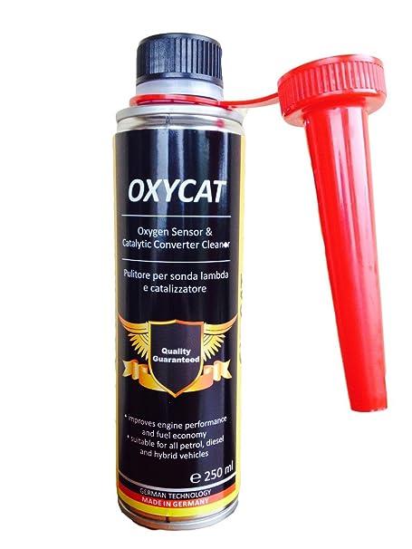 1 x Oxycat-Reiniger für eine Lambda-Sonde, Katalysator E und EGR-Ventil – verbessert den Kraftstoff – erhöht die Leistung des