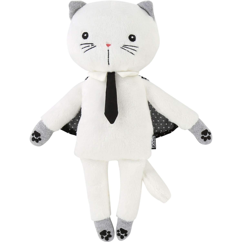 Karl Lagerfeld Kuscheltier Katze Choupette mit mit mit krawatte und Umhang Soft Toy weiß 288700