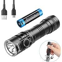 WUBEN E05 Mini Linterna LED Alta Potencia, Recargable