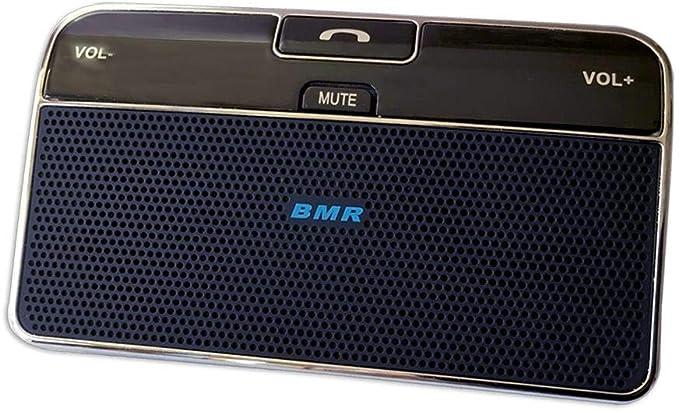 Visera BMRMusicTechnology Bluetooth manos libres altavoces Manos libres Kit de coche para iPhone, Samsung, HTC y