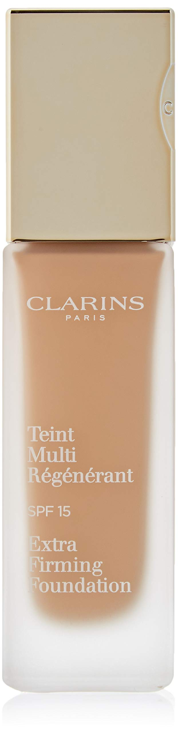 Clarins Extra Firming Foundation with SPF 15, 112 Amber, 1.1 Ounce
