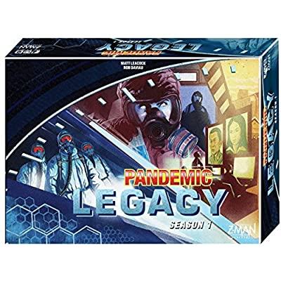 Pandemic: Legacy Season 1 (Blue Edition): Toys & Games