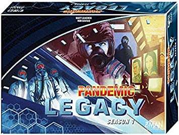 Pandemic Legacy Blue Season 1 - Board Game - Englisch …: Amazon.es: Juguetes y juegos
