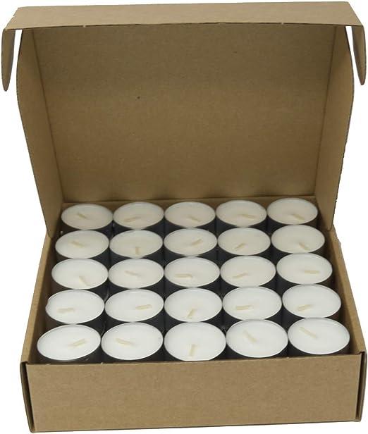 Coraz Home - Paquete de 100 velas de té de citronela natural 100 ...