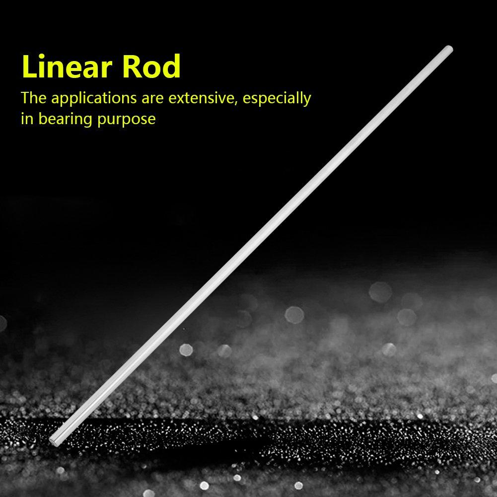 Lineare Stange Rostfreier Stahl Linearschiene Rod Zylinderschiene Lineare Welle Gerade runde Stange 8mm Durchmesser 500mm L/änge MEHRWEG VERPACKUNG