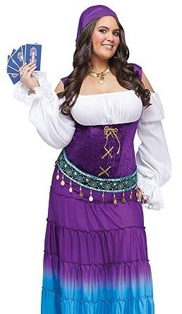 91a4652776 Amazon.com  Fun World Women s Gypsy Moon Plsz Diamond