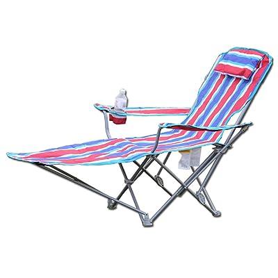 Anna Chaise d'escalade Fauteuils inclinables Chaise pliante Bureau Pause-repas en plein air Chaise de plage Portable Siesta Lit Intérieur Disponible Chaise pliante