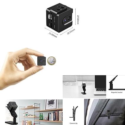 T16 Mini Spy Cam Hidden Camera microtelecamera espía + cámara digital miniaturizzata a batería/cámara