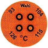 Wahl Instruments 443-094C Round Mini Four Position IC Batch/Vacuum Chamber Temp-Plate, 93, 104, 115 and 126 degrees C (Pack of 10)