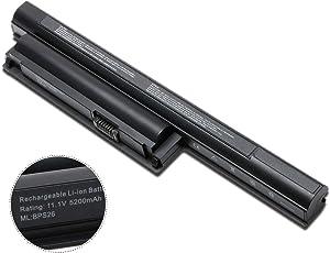 New BPS26 VAIO Laptop Battery for Sony VGP-BPL26 PCG-61A12L PCG-61A13L VGP-BPS22 VGP-BPS26A VPC-E1Z1E VPC-EA PCG-61A12L PCG-61A13 PCG-71912L Sony VAIO CA/EJ/EG/CB Series 11.1V/ 10.8V 5200mAh Battery