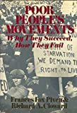 Poor People's Movements, Richard Cloward and Frances Piven, 0394488407