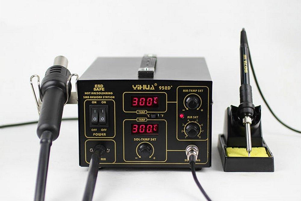 Yihua 952D+ - Italtronik - Estación de soldadura y desoldadura de aire caliente: Amazon.es: Bricolaje y herramientas
