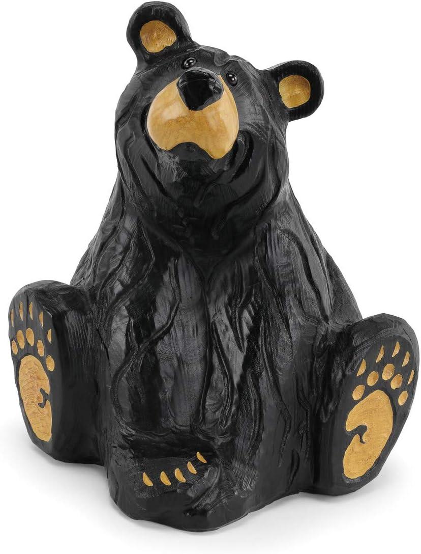 DEMDACO Big Sky Carvers Grand Series Bearfoots Bear Jenny 8.5 W x 10.5 H