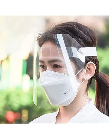 Happyyami Visiera Protettiva di Sicurezza Copri Viso Plastica Trasparente Antinebbia Coperchio Antinebbia Proteggi Gli Occhi e Il Viso per Cucina da Laboratorio allaperto