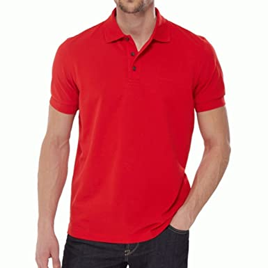 Hugo Boss Ferrara Polo Rojo 645 rojo rosso Small: Amazon.es: Ropa ...