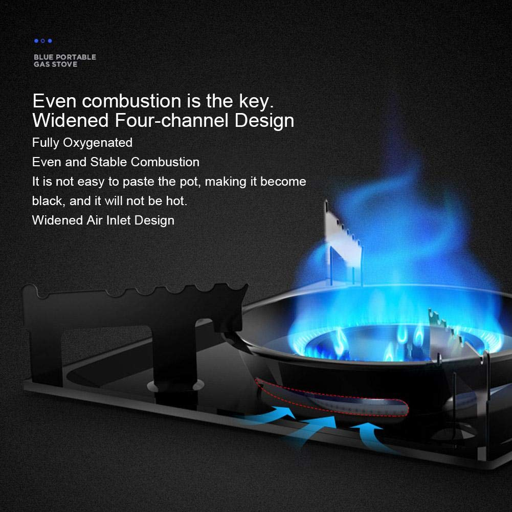 Lightweight /& Portable Butane Stove,Outdoor Furnace Gas Cassette Stove for Barbecue Camping