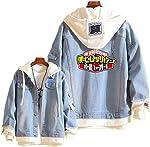 Boku No Hero Academia My Hero Academia Denim Jacket Graphic Hoodie