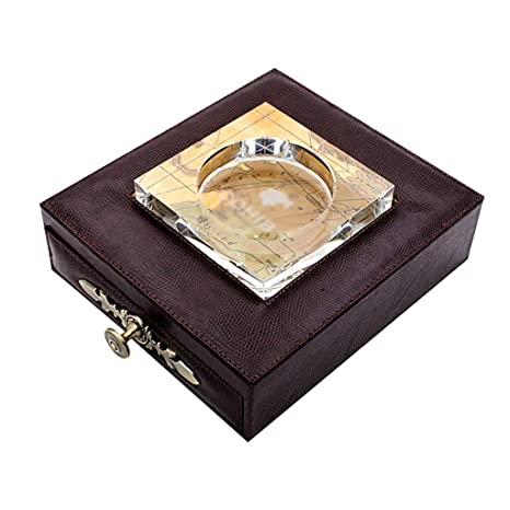 Amazon.com: WLXJH - Cenicero de cristal para mechero con ...