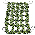 Niteangel Small Animal Activity Toy Rat And Ferret Cotton Rope Nets Green