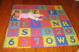We Sell Mats 36 Alphabet And Number Floor Mat