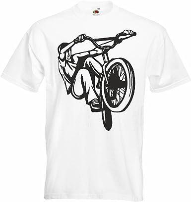 T-Shirt Camiseta Remera BMX Freestyle Motocross Bicicleta Calle ...