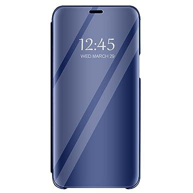 Carcasa Huawei P10 Flip Espejo Case Protección Stand Funda ...