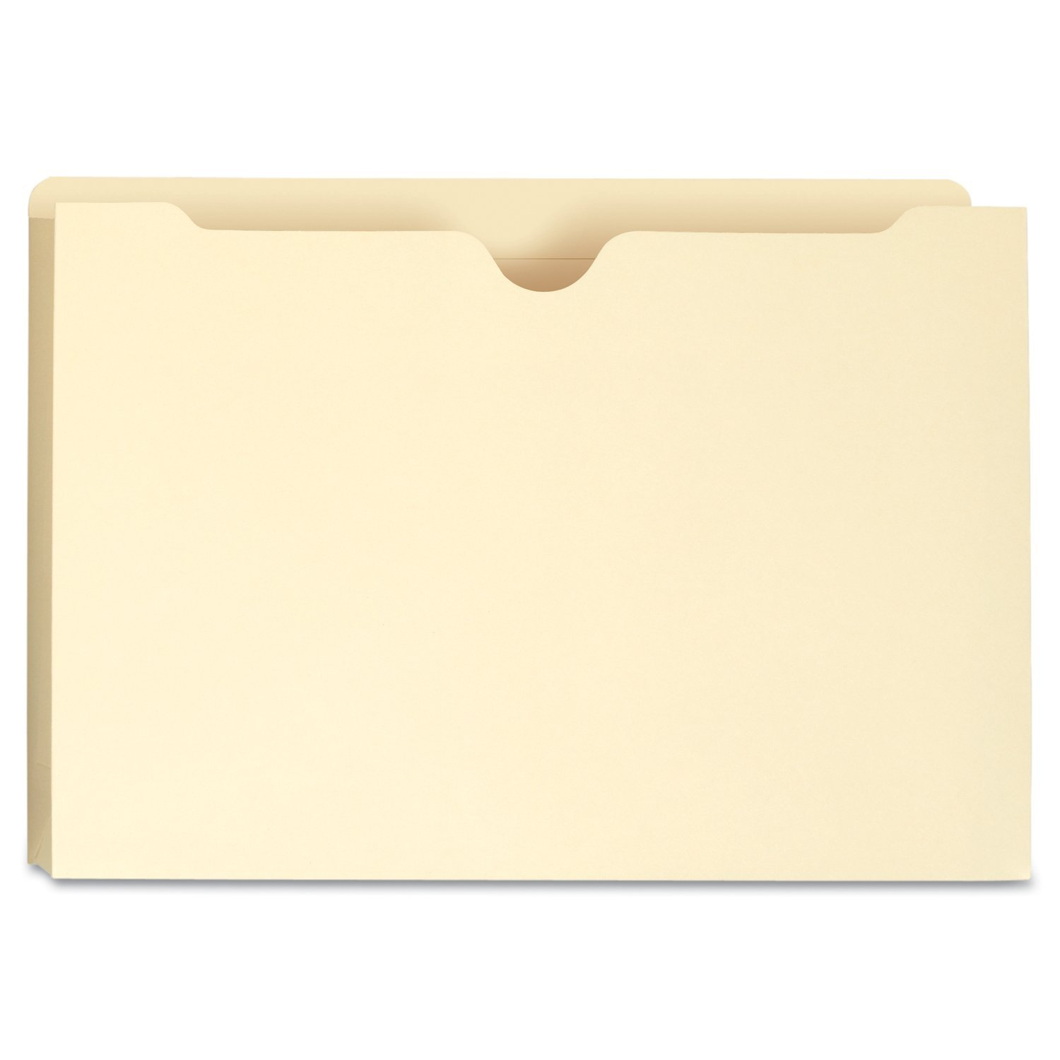 """Smead 2"""" Double-Ply Expansion File Jackets, Manila (Legal, 50 ct.)"""