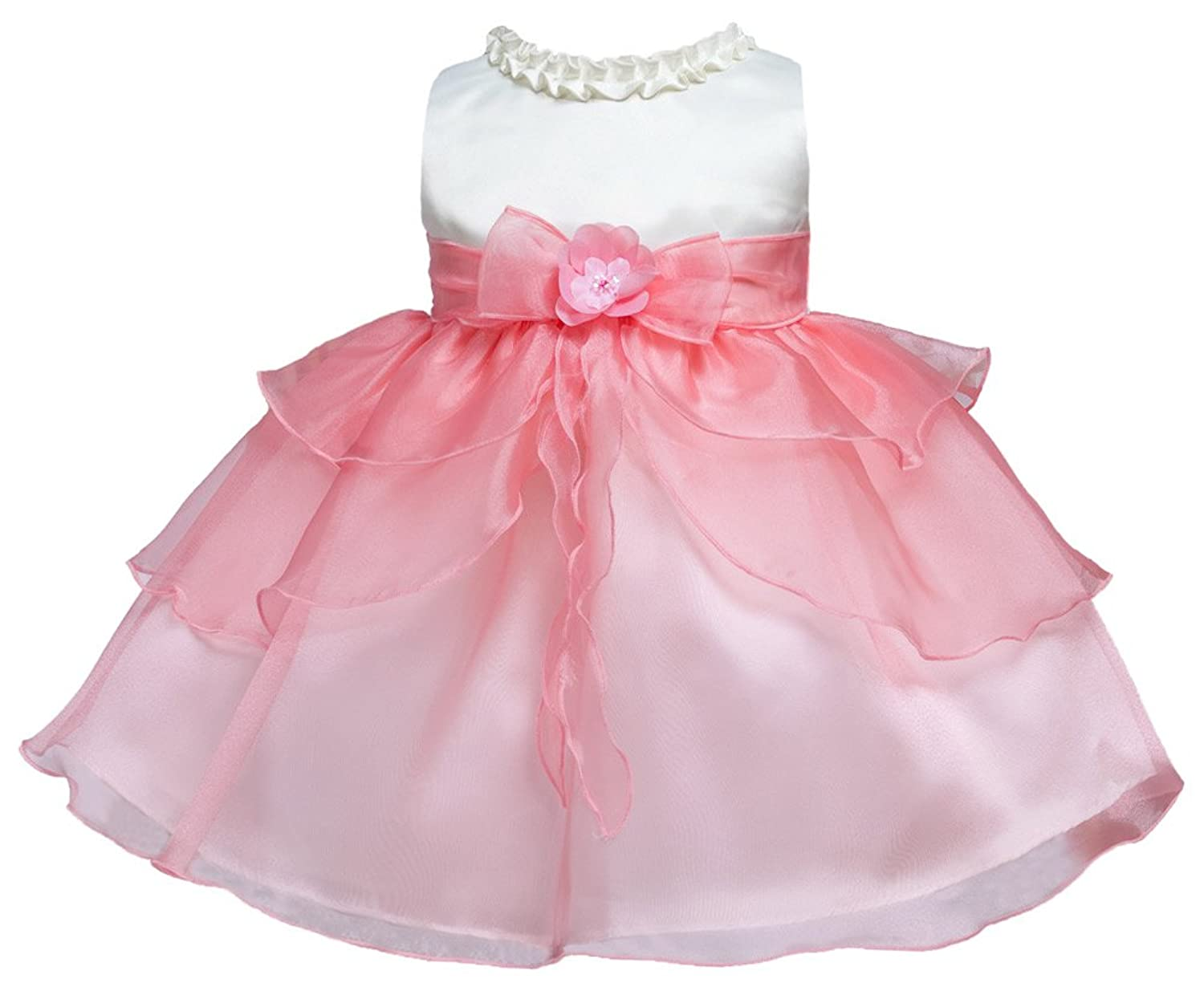 Amazon.com: KID Collection Baby-Girls Ruffle Tiered Dress: Clothing