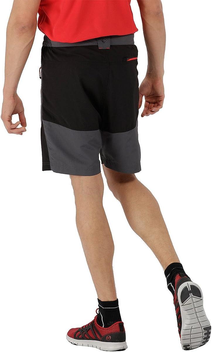Regatta Mens Sungari Lightweight Water Repellent Uv Protection Active Hiking Shorts