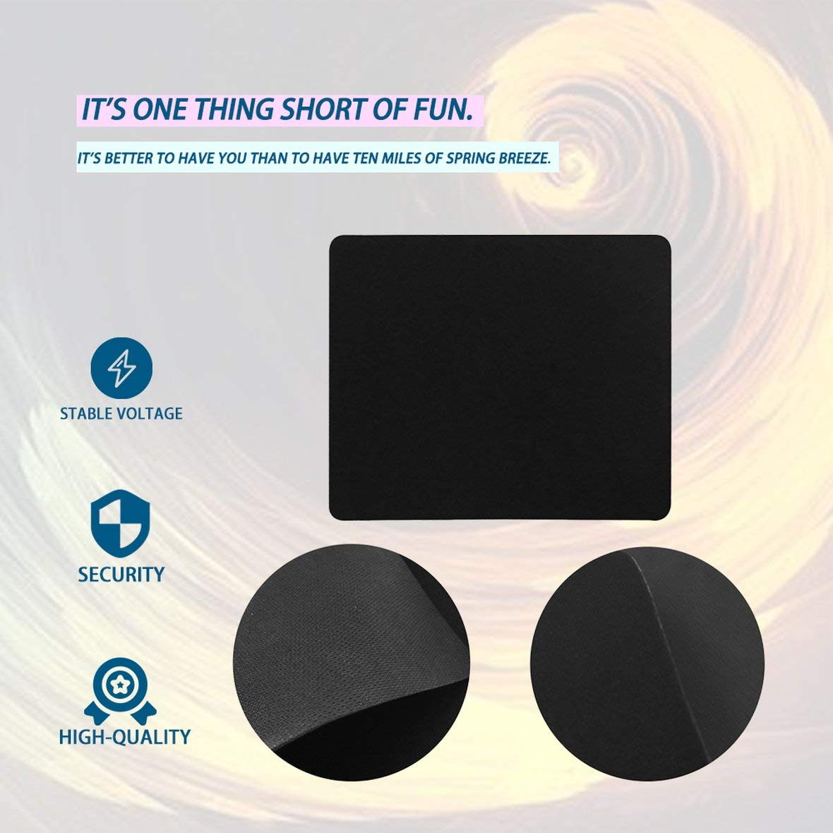 18cm Universal Mouse Pad Mat Precise Positioning Anti-Slip Rubber Mice Mat for Laptop Computer Tablet PC Optical Mouse Mat Tivolii 22
